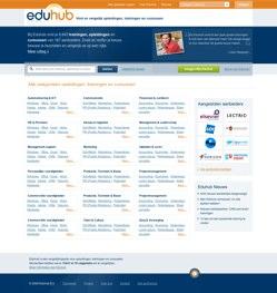 Eduhub concept Homepage